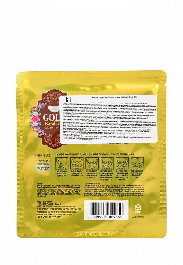 Маска для лица Koelf Гидрогелевая Золото и пчелиное маточное молочко, 30 гр
