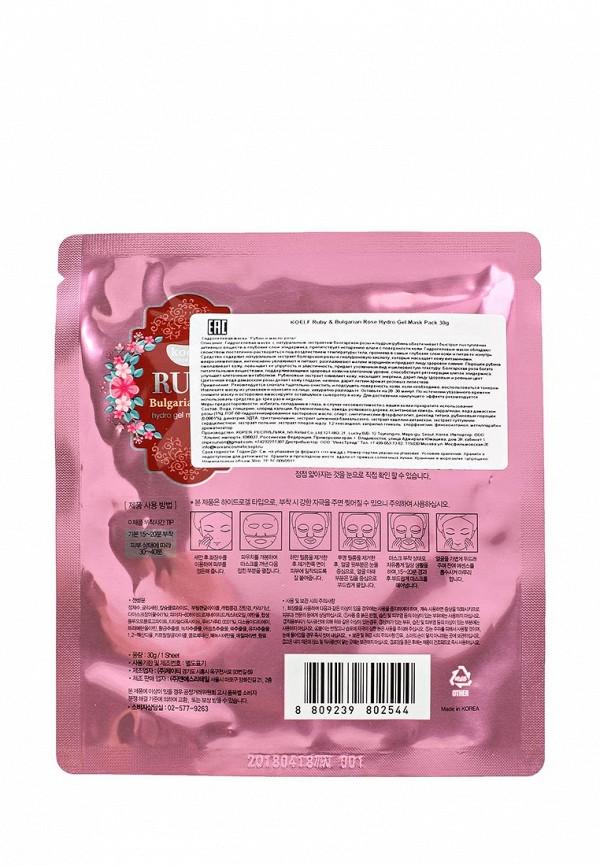 Маска для лица Koelf Гидрогелевая  Рубин и масло розы, 30 гр