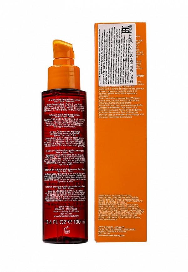 Средство Lancaster Sun Beauty Hair Мультивосстанавливающее масло сыворотка для волос после солнца 100 мл