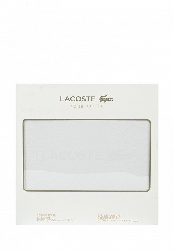 Набор Lacoste Pour Femme Туалетные духи-спрей 50 мл, лосьон для тела 100 мл