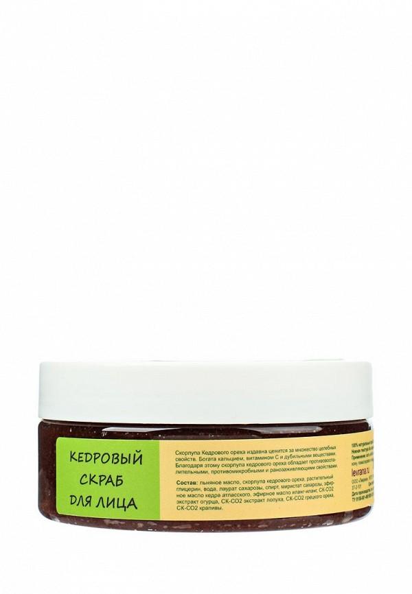 Скраб Levrana для лица Кедровый, 150мл гидрофильный
