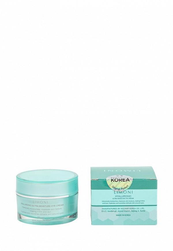 Крем Limoni ультраувлажняющий для век с гиалуроновой кислотой Hyaluronic Ultra Moisture Eye Cream 30 мл