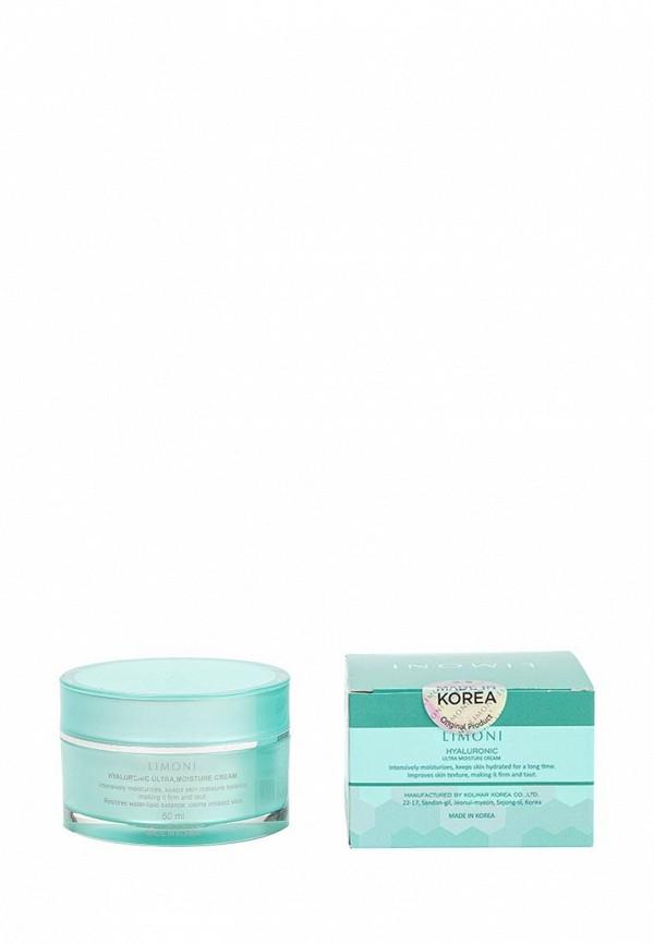 Крем Limoni ультраувлажняющий для лица с гиалуроновой кислотой Hyaluronic Ultra Moisture Cream 50 мл
