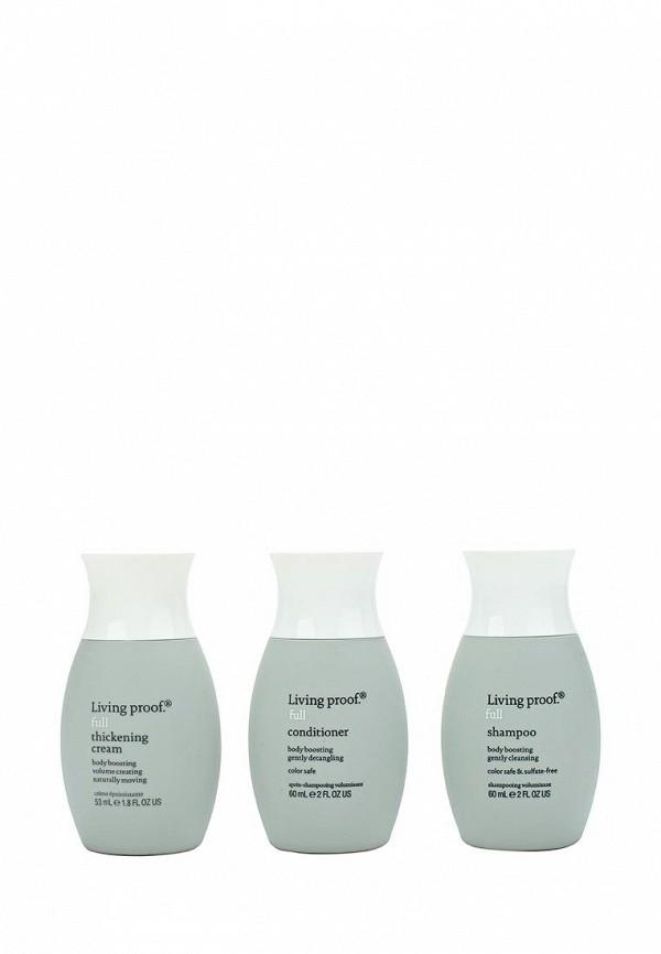 Набор для ухода за волосами Living Proof. для объема Full GHD travel kit, 3 по 60 мл