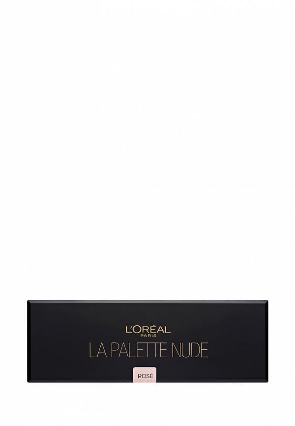 Палетка LOreal Paris теней для глаз Nude, Color Riche оттенок 002 Rose 10 оттенков
