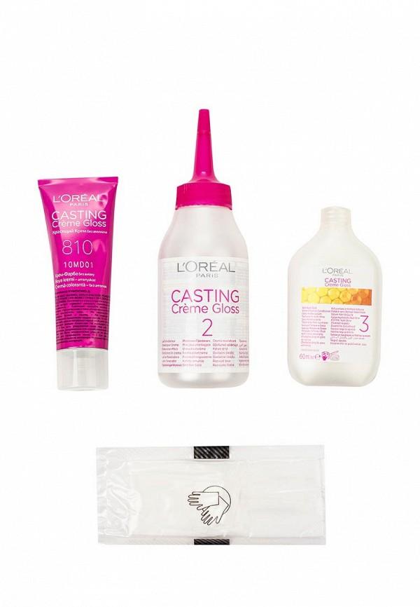 Краска для волос LOreal Paris Casting Creme Gloss. 810 Свутло русый перламутровый