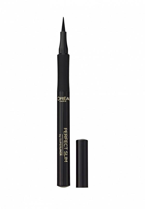 Набор для макияжа глаз LOreal Paris Тушь для ресниц Объем миллиона ресниц Feline, 9,5 мл + Суперлайнер Perfect Slim