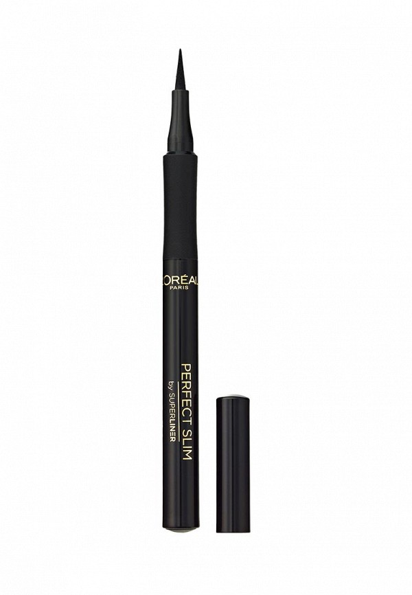 Набор для макияжа глаз LOreal Paris Тушь для ресниц Объем миллиона ресниц От Кутюр, 9,5 мл + Суперлайнер Perfect Slim, черный
