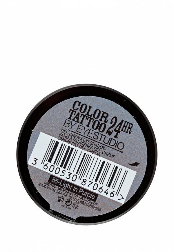 Тени для век Maybelline New York для век Color Tattoo 24 часа оттенок 87 Загадочный сиреневый 4 мл