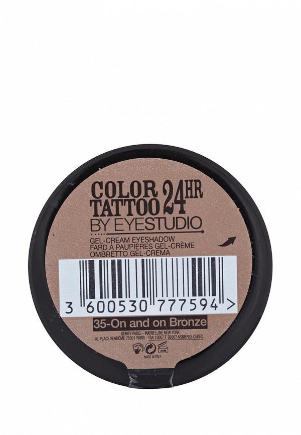 Тени Maybelline New York для век Color Tattoo 24 часа оттенок 35 Бронзовый рай 4 мл