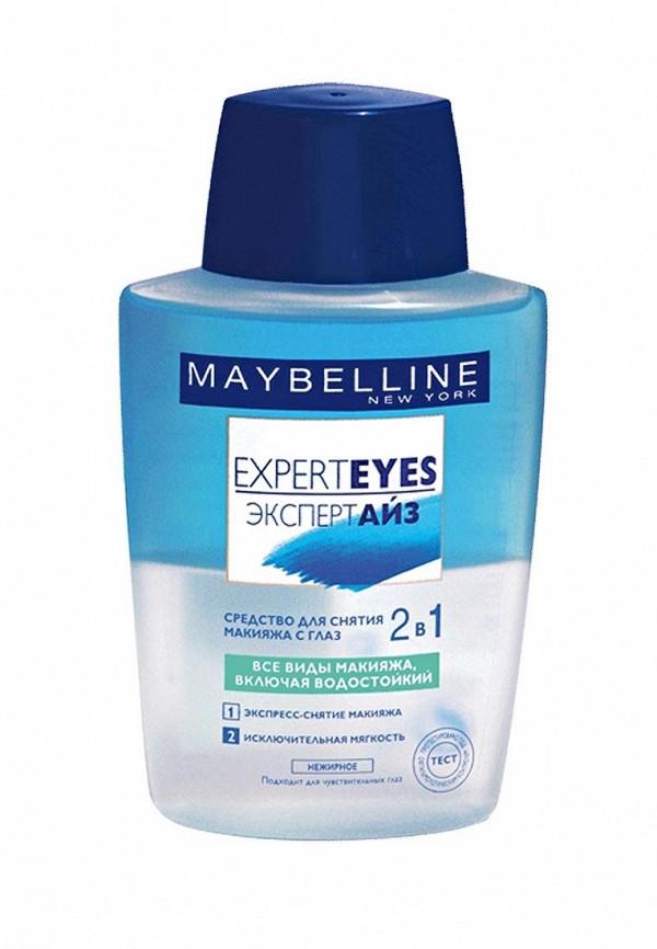 Средство для снятия макияжа Maybelline New York с глаз 2 в 1 ExpertEyes двухфазное 125 мл