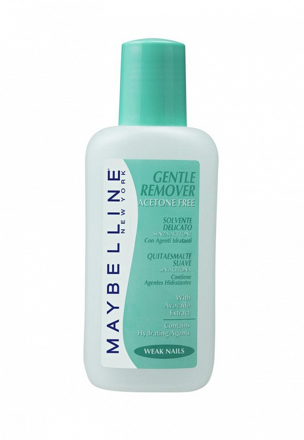 Средство для снятия лака Maybelline New York Gentel Remover без ацетона 125 мл