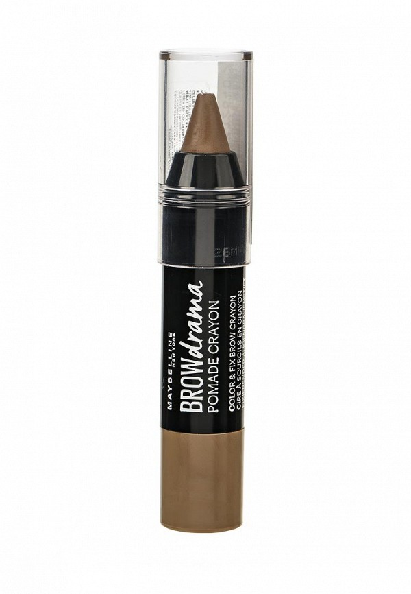 Карандаш-стик для бровей Maybelline New York Brow Drama Pomade 01 Темный бежевый
