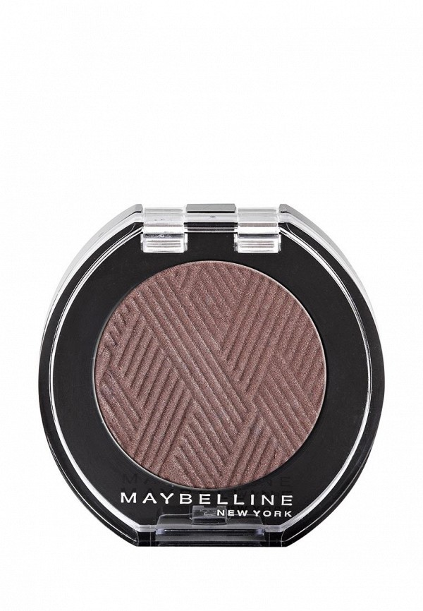Тени для век Maybelline New York Вельвет 5, Серо-коричневый, 3 мл
