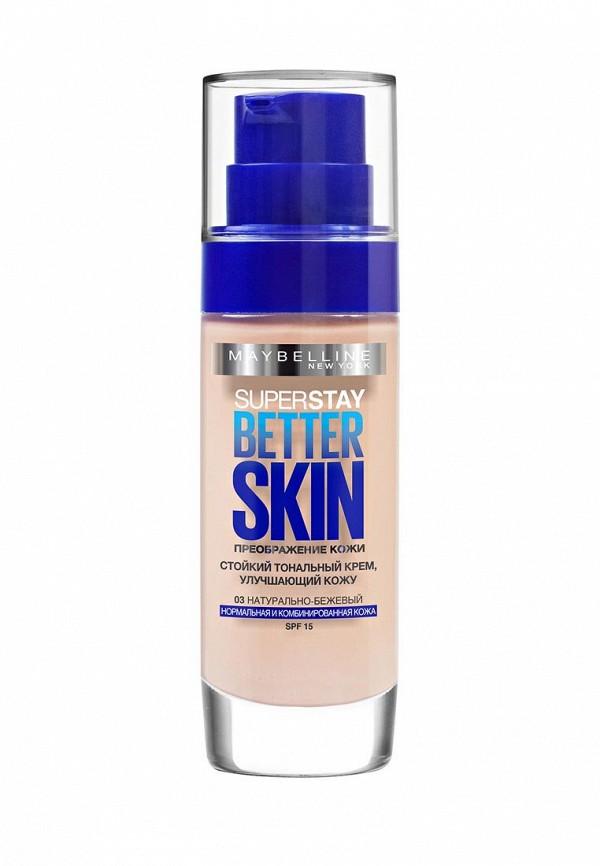 Тональный крем Maybelline New York Better Skin оттенок 31 персиково-бежевый, 30 мл