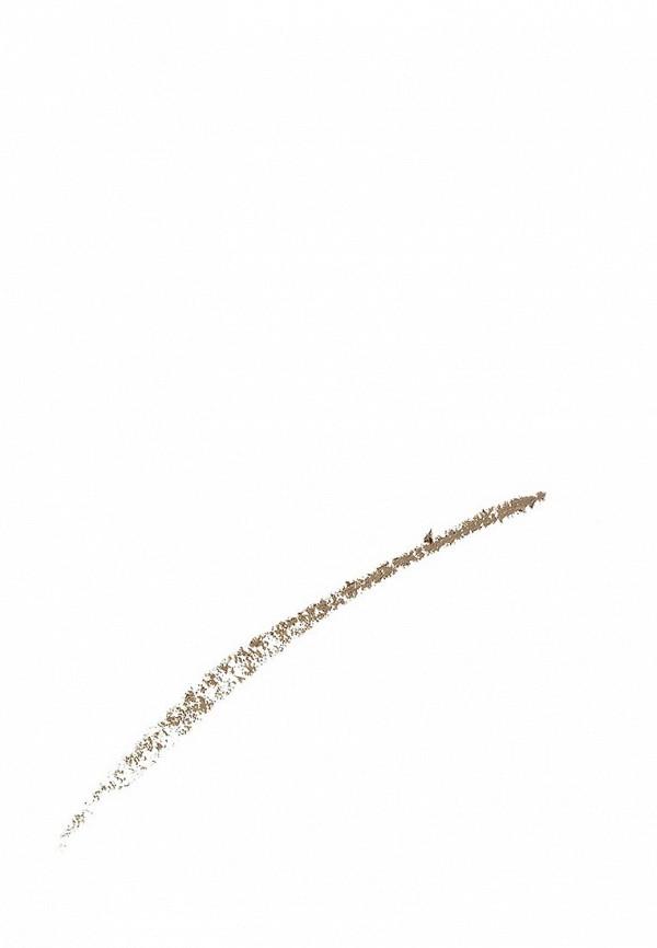 Карандаш для бровей Maybelline New York для бровей Brow Precise Micro Pencil, карандаш + щеточка, оттенок 1, Темный блонд