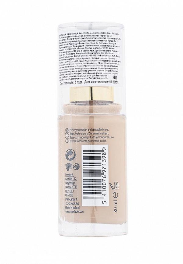 Основа Max Factor Тональная Facefinity All Day Flawless 3-in-1  45 тон warm almond