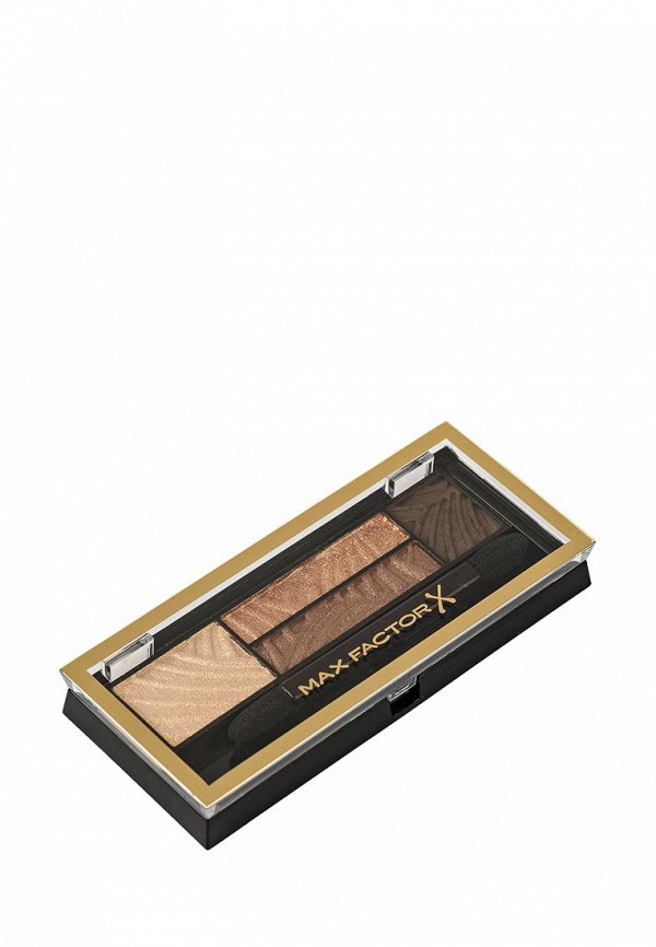 Тени Max Factor 4-х цветные Для Век И Бровей  Smokey Eye Drama Kit 2 В 1 Тон 03 sumptuous golds