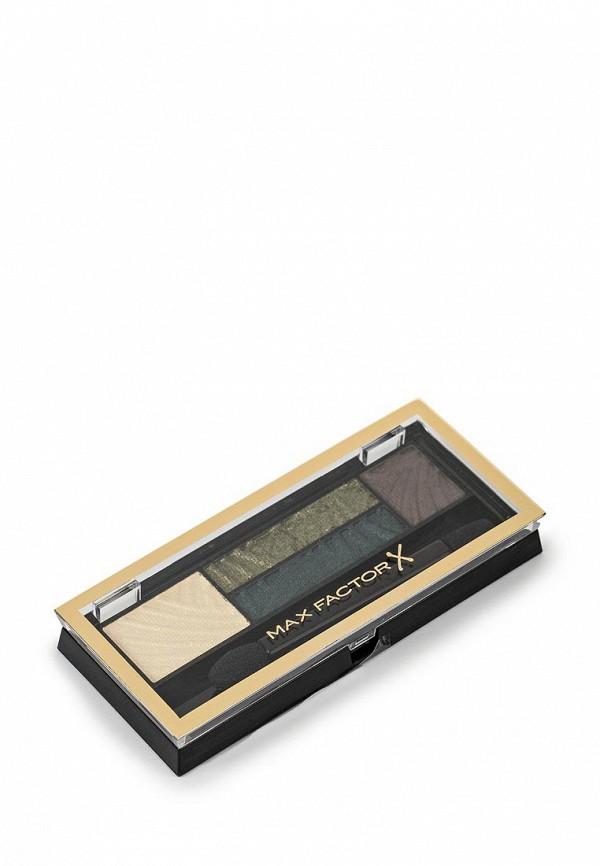 Тени Max Factor 4-х цветные Для Век И Бровей  Smokey Eye Drama Kit 2 В 1 Тон 05 magnetic jades