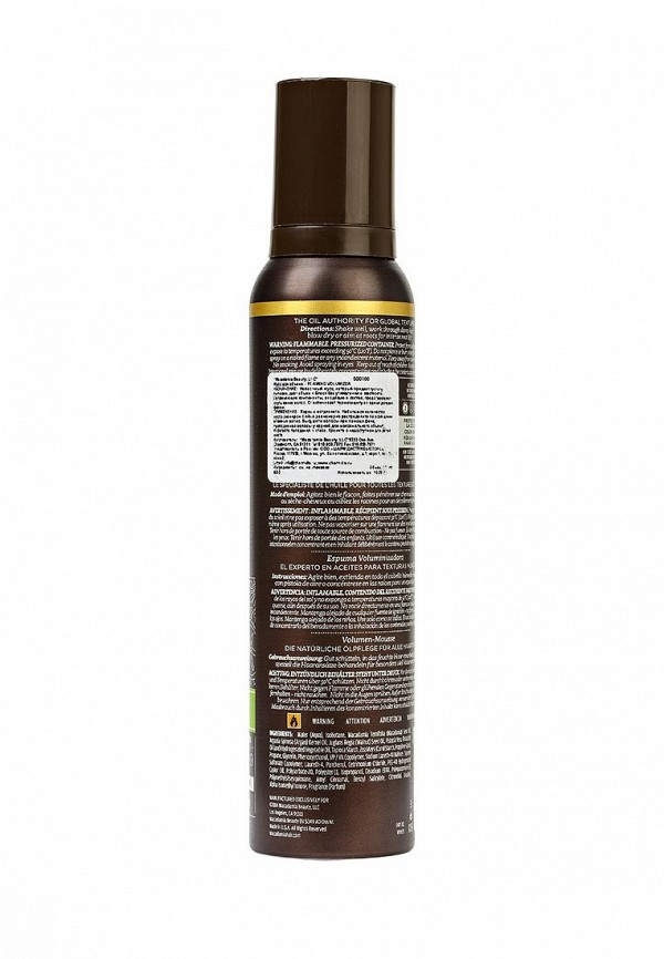 Мусс для укладки Macadamia Natural Oil для объёма