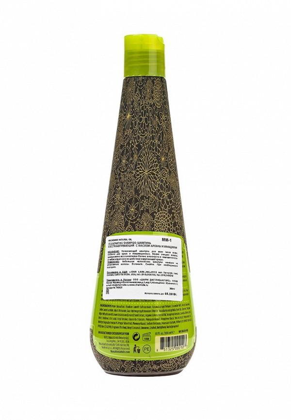 Шампунь Macadamia Natural Oil восстанавливающий с маслом арганы и макадамии, 300 мл