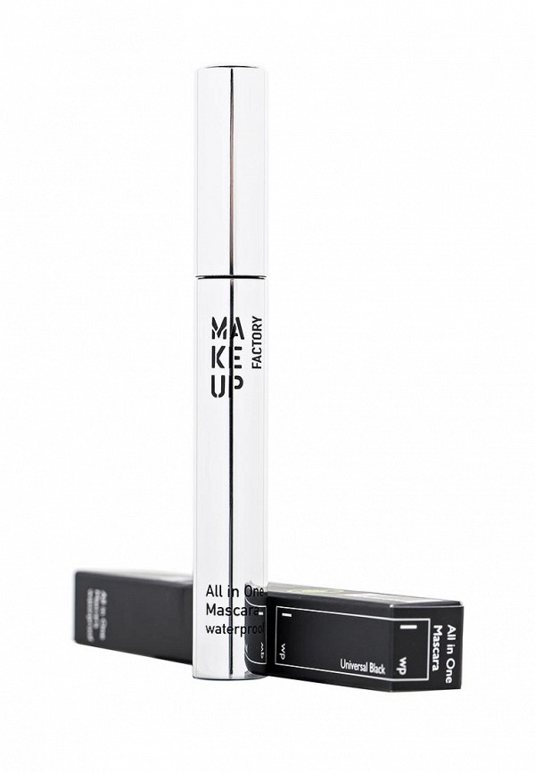Тушь Make Up Factory Универсальная водостойкая для ресниц  All In One Mascara Waterproof черный