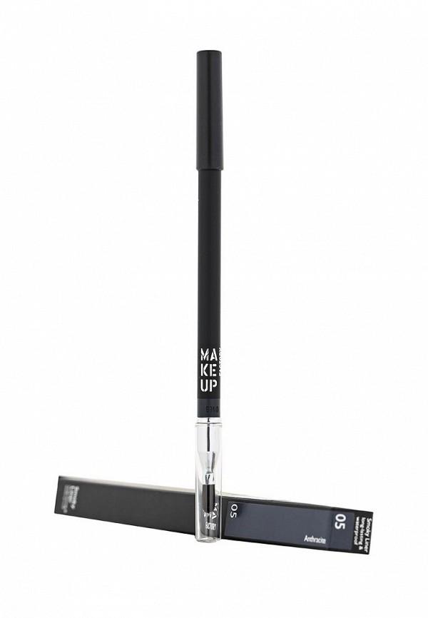 Карандаш Make Up Factory Устойчивый водостойкий  для глаз Smoky Liner long-lasting  waterproof тон 05 антрацит