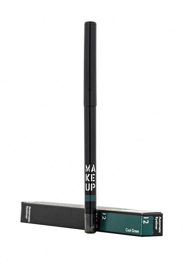 Карандаш Make Up Factory Автоматический контурный для глаз  Automatic Eyeliner  тон 12 холодный зеленый