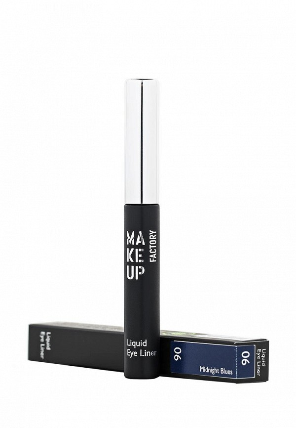 Подводка Make Up Factory Жидкая для глаз Liquid Eye Liner тон 06 синий