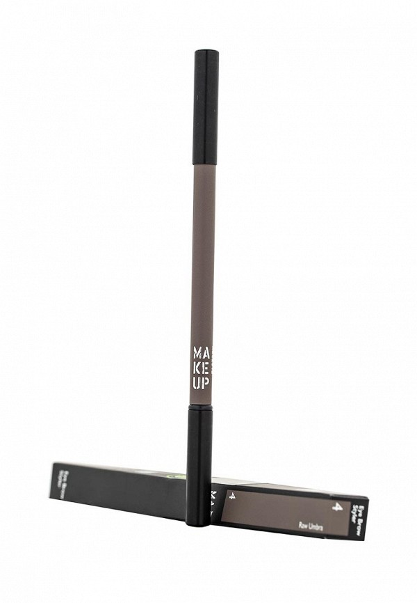 Карандаш для бровей Make Up Factory Eye Brow Styler тон 4 пыльный коричневый