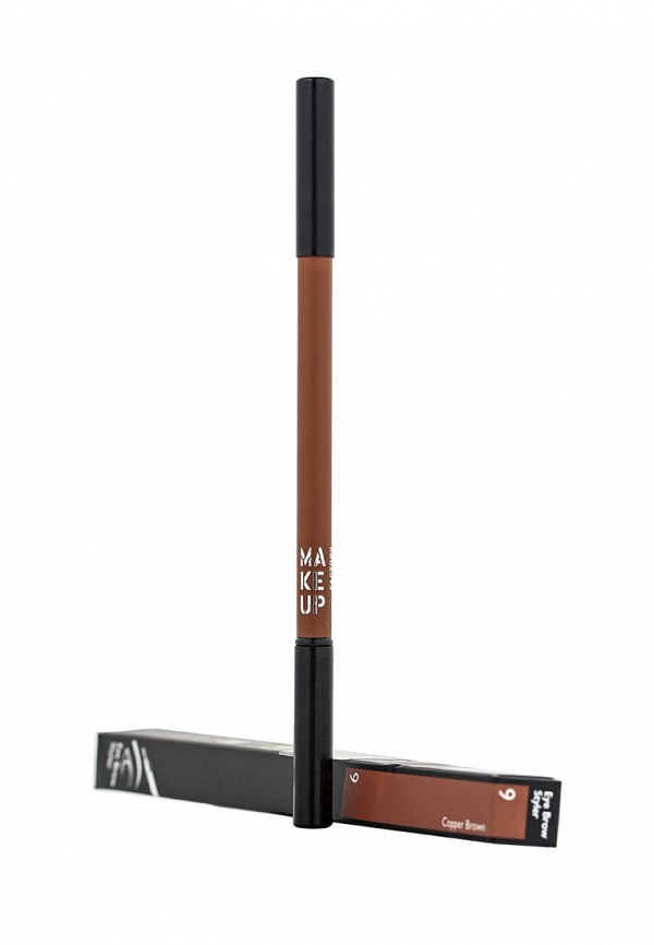 Карандаш для бровей Make Up Factory Eye Brow Styler тон 9 медно-коричневый