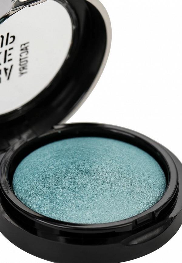 Тени для век Make Up Factory Запеченные одинарные для глаз Eye Shadow тон 64 светлый зеленовато-голубой