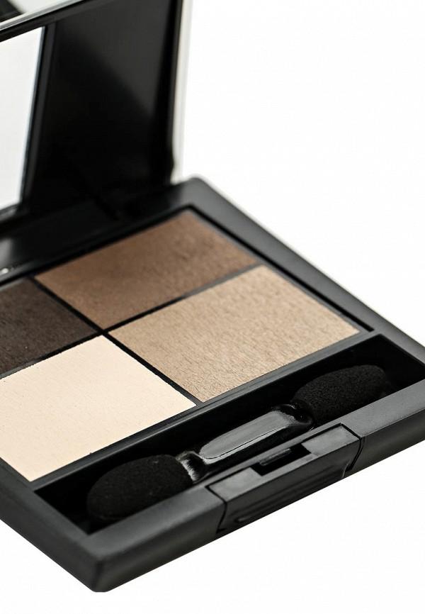 Тени для век Make Up Factory четырехцветные Eye Colors, тон 04 дуб, коричневая охра, цинковые белила, серый