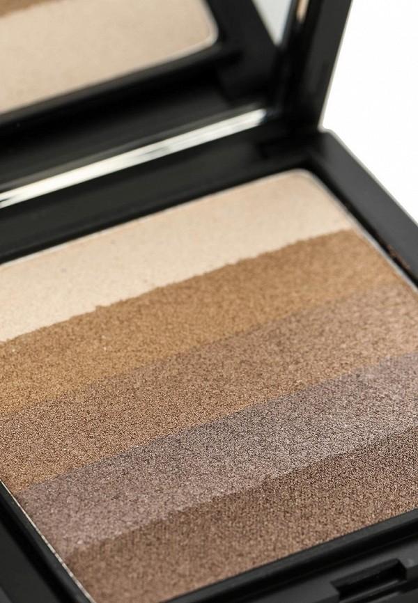 Тени Make Up Factory 5-ти цветные для глаз Diamond Stripes тон 10 холодные бежевые оттенки