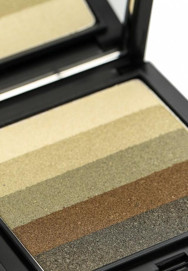 Тени для век Make Up Factory 5-ти цветные Diamond Stripes тон 25 мягкие оттенки оливы