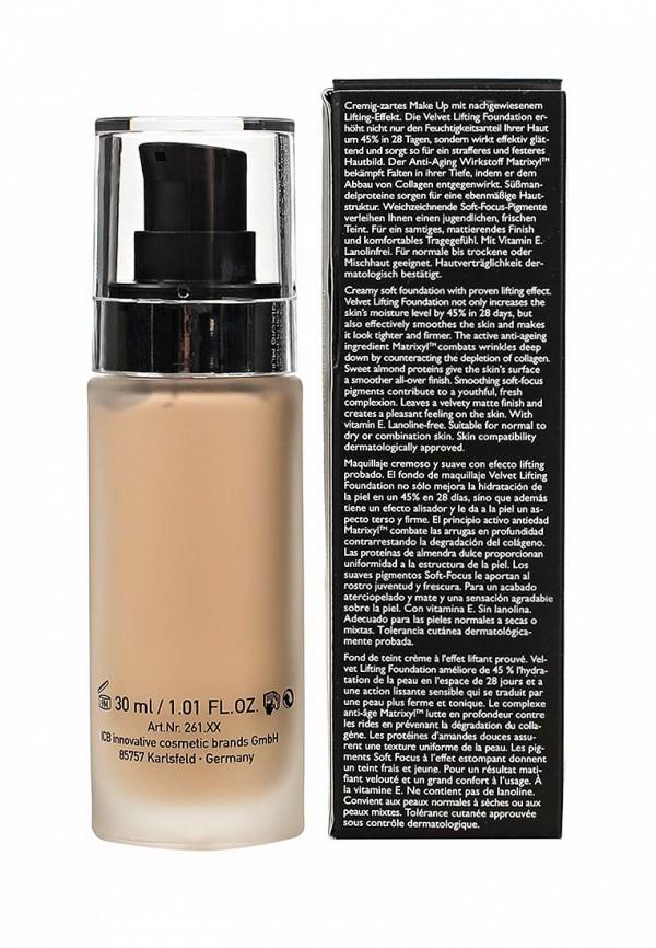 Тональное средство Make Up Factory для нормальной,сухой,комбинированной кожи с эффектом лифтинга Velvet Lifting Foundation, т.11 розово-песочный