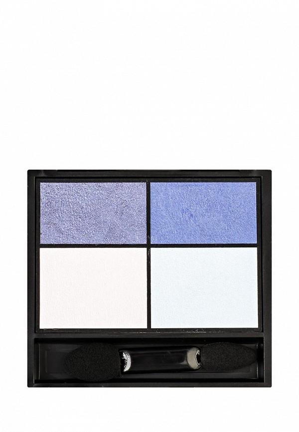 Тени для век Make Up Factory Eye Colors тон 44 синий, сине-фиолетовый,светло-голубой,белый