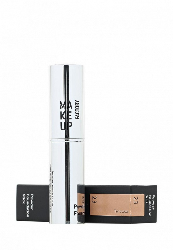 Крем-стик Make Up Factory Тональный  Powder Foundation Stick, тон 23 терракот