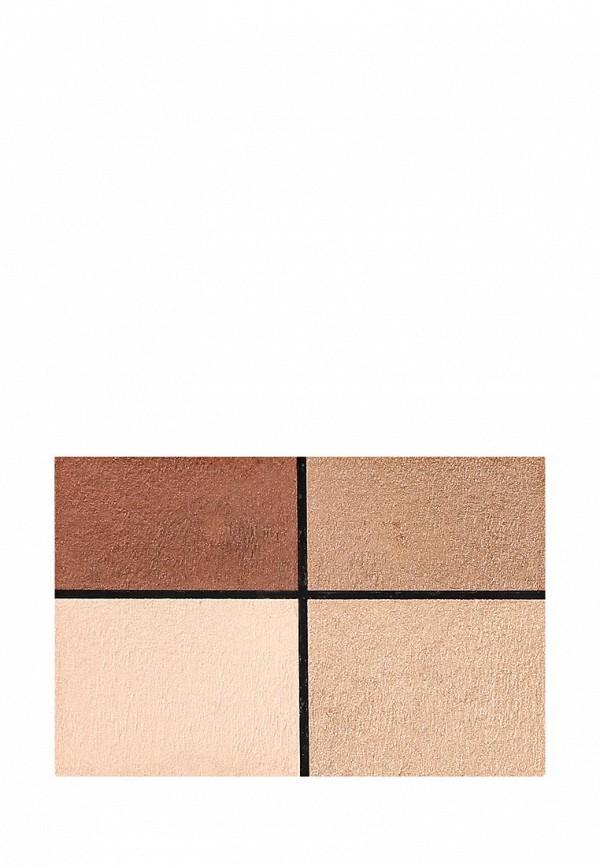 Тени для век Make Up Factory Eye Colors т.11 коричневый, тёмно коричневый, свестло бежевый,бежевый