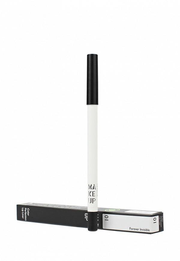 Карандаш для губ Make Up Factory Color Perfection Lip Liner т.1 Невидимый