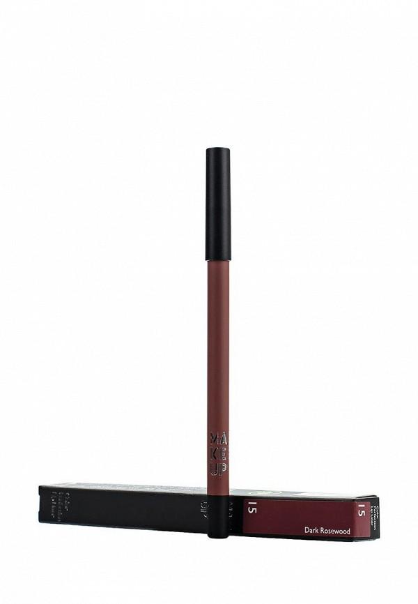 Карандаш Make Up Factory для губ Color Perfection Lip Liner, тон 15 Темный палисандр