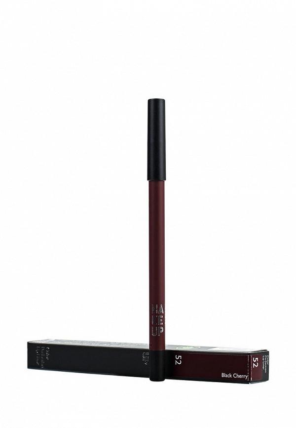 Карандаш Make Up Factory для губ Color Perfection Lip Liner, тон 52 Темная вишня