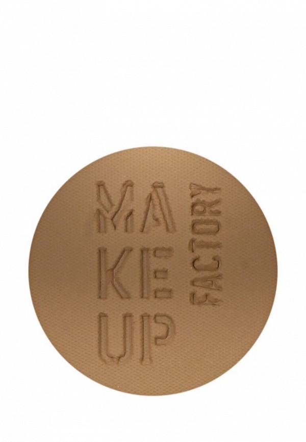 Румяна Make Up Factory Матовые компактные Mat Blusher т.46 мягкий коричневый
