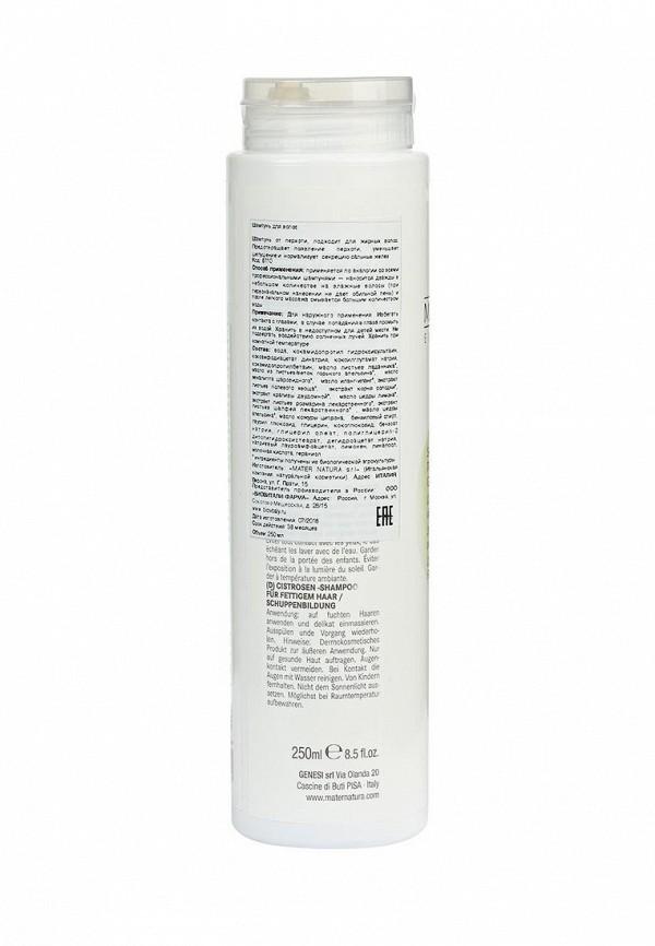 Шампунь Mater Natura для жирных волос и от перхоти , 250 мл