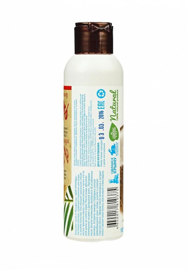 Масло для волос Мануфактура Дом Природы кокосовое Инжир и барбарис, питание и восстановление, 140 г