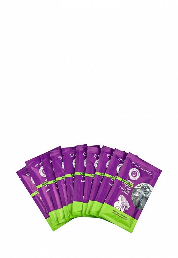 Маска Мануфактура Дом Природы для волос Vitality-комплекс на основе Сакской грязи, 10 саше