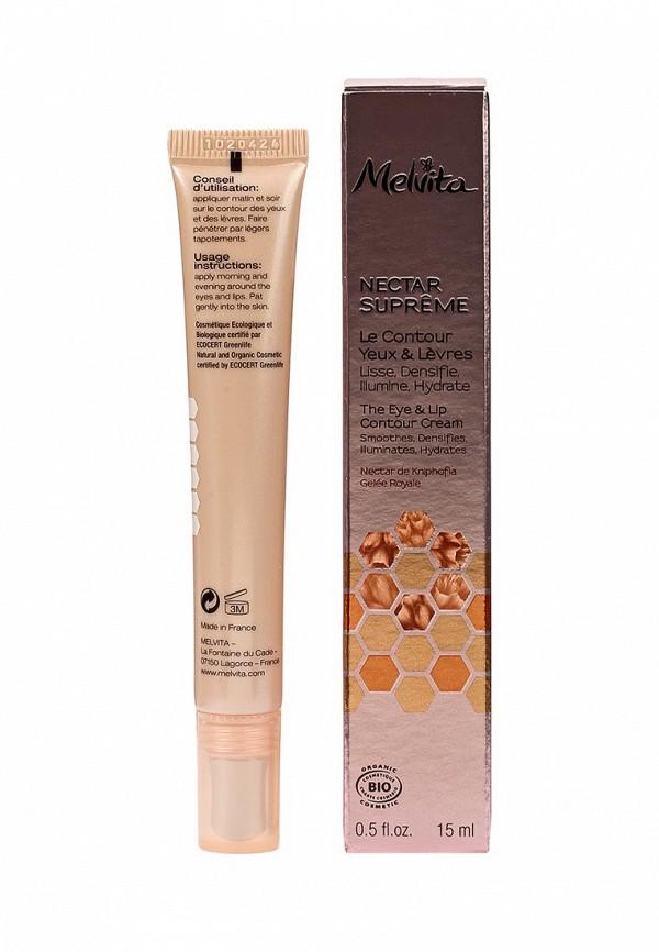 Концентрат Melvita Nectar Supreme Антивозрастной для кожи вокруг глаз и губ с экстрактом книфофии 15 мл