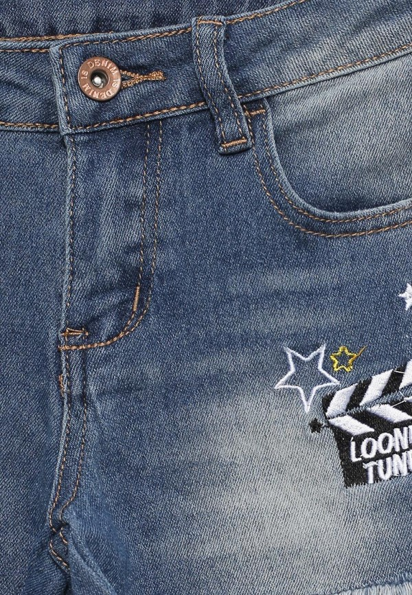 Шорты для девочки джинсовые Modis M181D00270 Фото 3