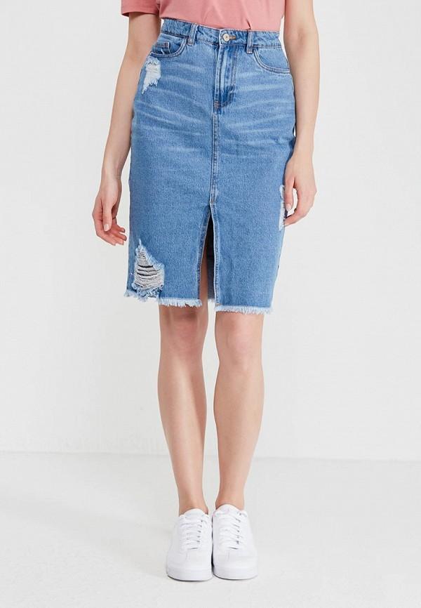 Юбка джинсовая Modis M181D00094