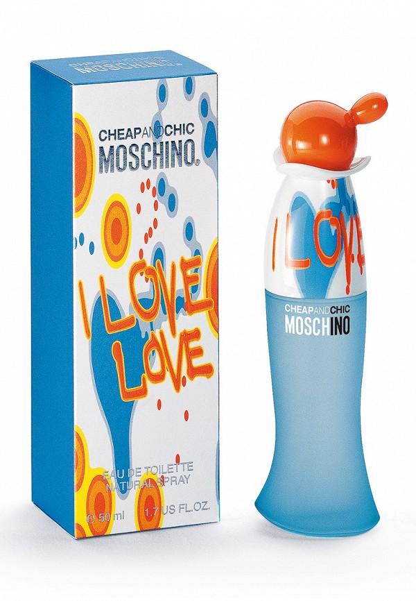 Туалетная вода Moschino I love love 50 мл